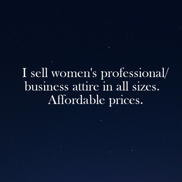 Dresses & Skirts - Need to look professional? I can help!